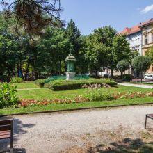 Sopron, Deák tér az Időjelzővel
